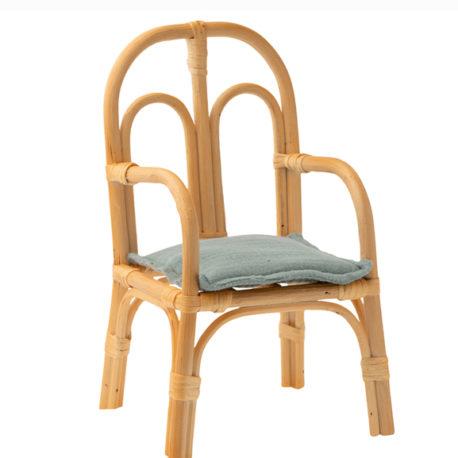 chaise maileg rotin medium 11-0005-01 cair rattan maileg