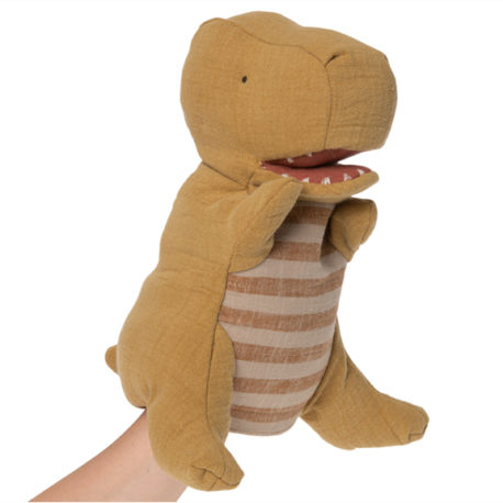 dinosaure maileg marionnette