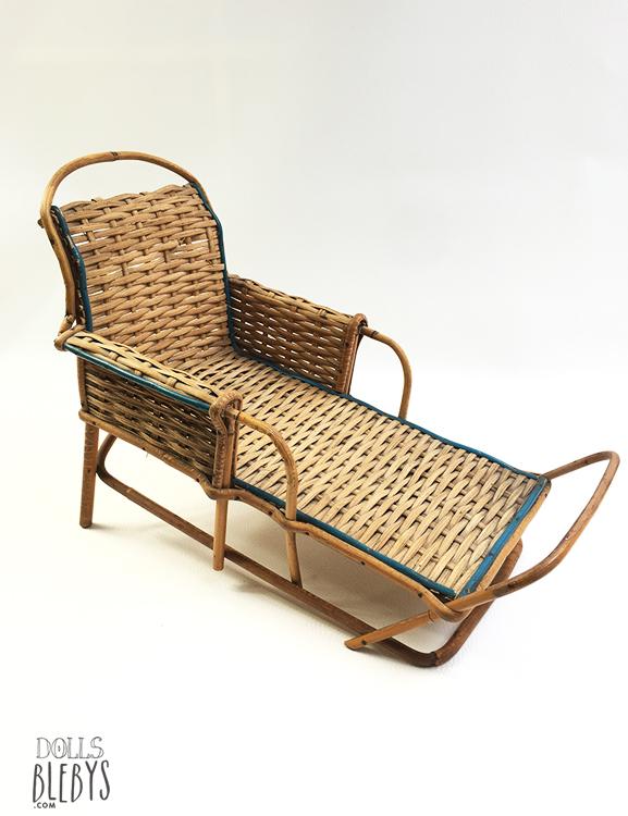 chaise longue rotin - Transat osier modèle ancien - jouets ...