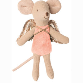 Fée SOURIS Maileg Rose Little sister – 10 cm
