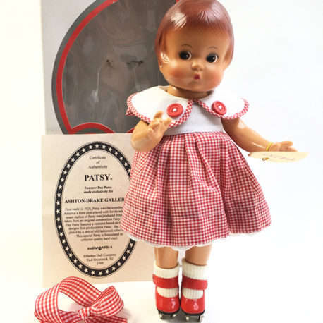 patsy summer day doll patins à roulettes 1999 vintage