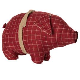 COCHON Maileg Rouge Medium Pig – Haut 20 cm