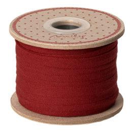 Ruban Maileg Rouge  25 m Coton