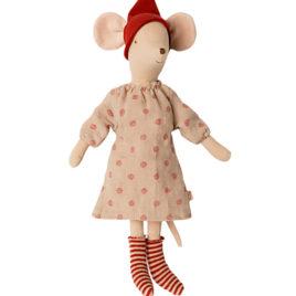 SOURIS Maileg Christmas Medium fille – 37 cm