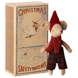 Big SOURIS Maileg  13 cm  Souris Christmas avec boîte
