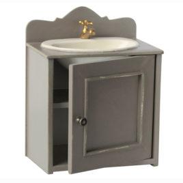 Meuble Maileg avec lavabo pour Maison de Poupées