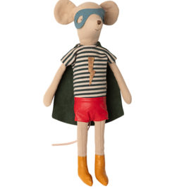 SOURIS Maileg Super Héros Boy Medium – 31 cm