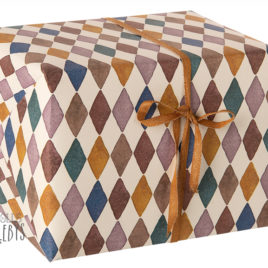 Rouleau papier Maileg Harlequin – 10 m