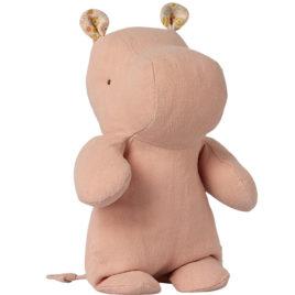 Maileg HIPPO Small Rose Safari friends – 22 cm