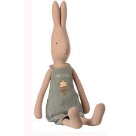 Rabbit Maileg size 4 LAPIN 63 cm Combinaison bleue