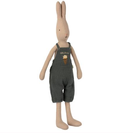 lapin maileg rabbit T3 salopette verte 16-1320-00