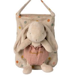 LAPIN Maileg Bunny Holly avec sac – 25 cm