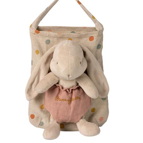 lapin maileg bunny holly avec son sac