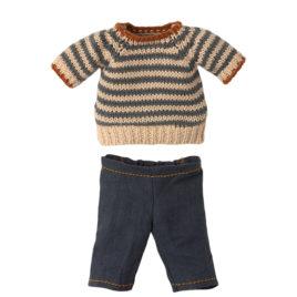 Ensemble Maileg Teddy Papa – Pantalon et Pull