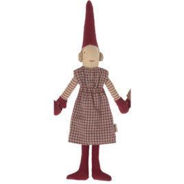 Lutin Pixy Maileg Fille – Lutin aimanté – Bas rouges