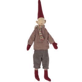 Pixy Maileg Garçon – Lutin avec écharpe – 31 cm
