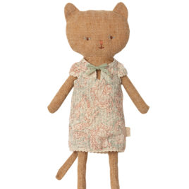 CHATON Maileg Ginger – Chat habillé – 25 cm