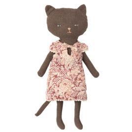 CHAT Maileg Chaton noir habillé – 25 cm
