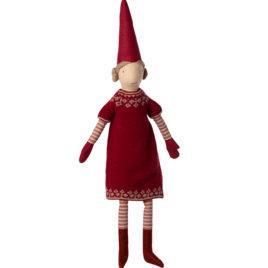 Femme PERE NOEL Maileg Small – Haut 84 cm
